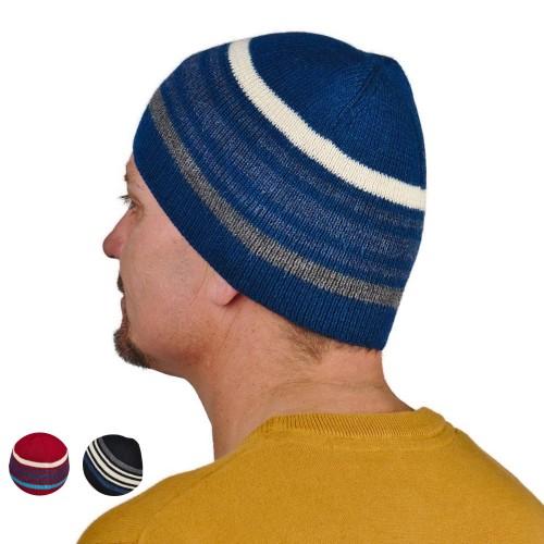 Unisex Beanie Norway, 100% Baby Alpaca knit hat | AlpacaOne