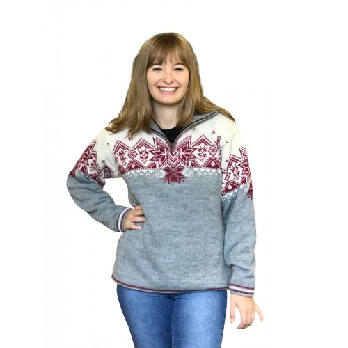 Nordic Alpaca Women's Norwegian Sweater | Albwolle