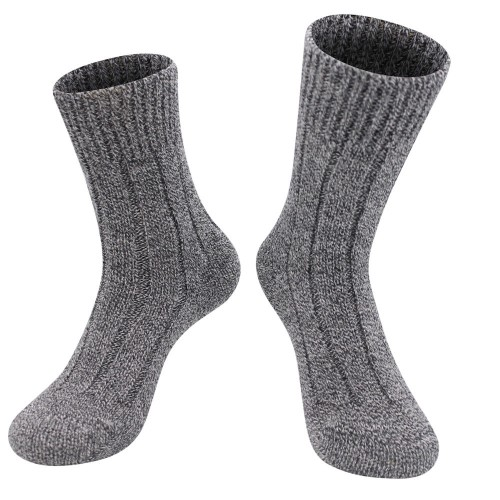 Alpaca wool socks, plain knit socks, all-gender | AlpacaOne