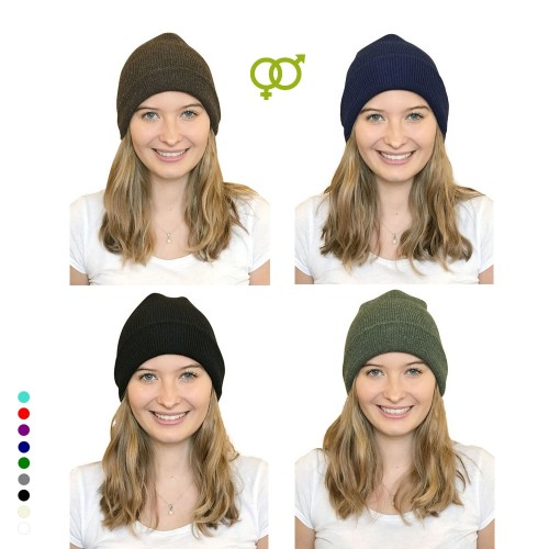 Alpaca Beanie, unisex eco wool cap in various colours | Albwolle
