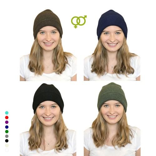 Alpaca Beanie, unisex eco wool cap in various colours | Albwolle