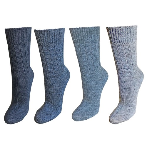Alpaca Wool Socks, unisex wool socks various colours | Albwolle