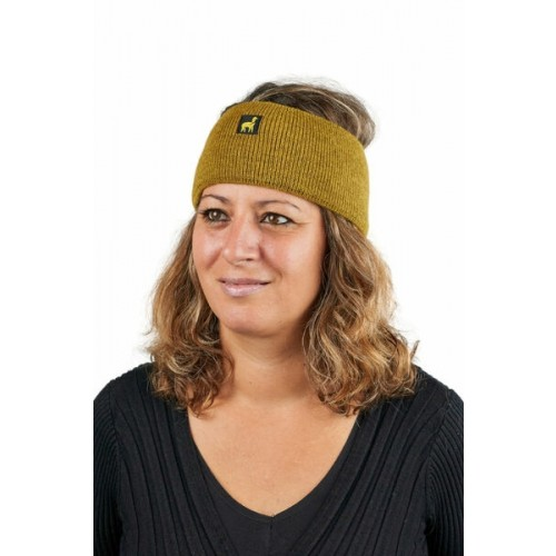 Alpaca Headband Malbun Slim Mustard Yellow | AlpacaOne