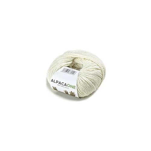 Alpacaone Baby Alpaca wool ball 50g natural OEKO-TEX