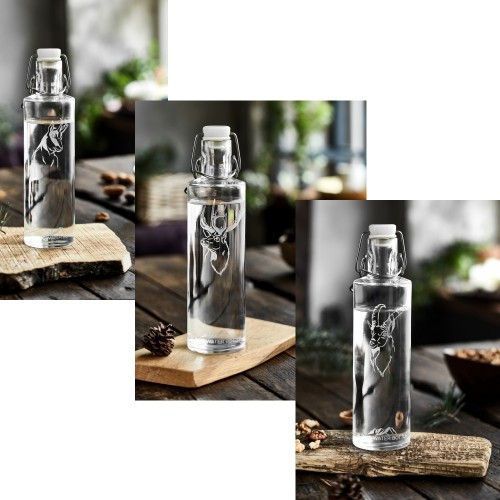 Nature's Design Alpine Water Bottle 0.6 l with animal motifs