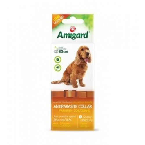 Natural anti flea & tick prevention dog collar | Amigard