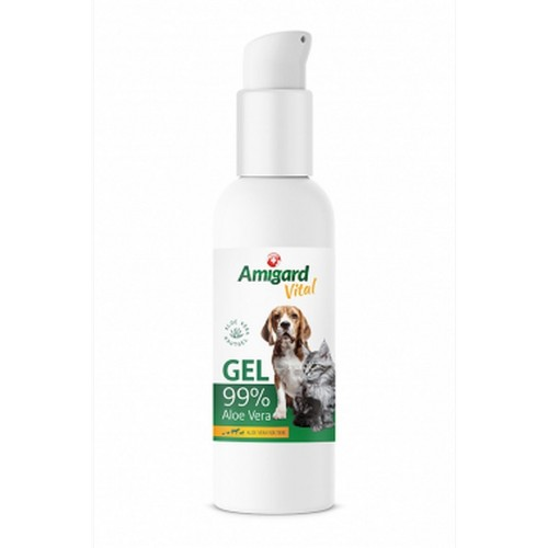 Amigard Aloe Vera Gel for Dogs, Cats & Horses