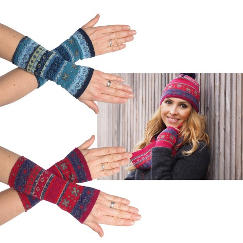 Armwarmers Stella made of Organic Merino Wool | Reiff