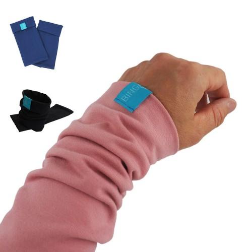 Solid-Coloured Arm Warmers, Organic Cotton Jersey » bingabonga