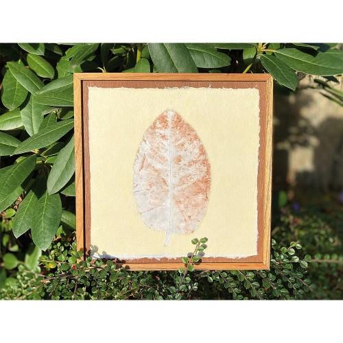 Fine Art Pieces LEAF Fair Trade Picture | Sundara Paper Art