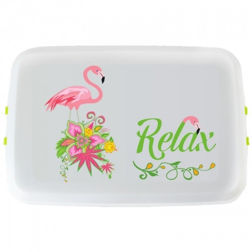 FLAMINGO Bioplastics eco Lunchbox | Biodora