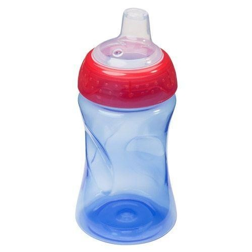 Non-Spill Cup 280ml, blue-red - BPA-free | BABY NOVA