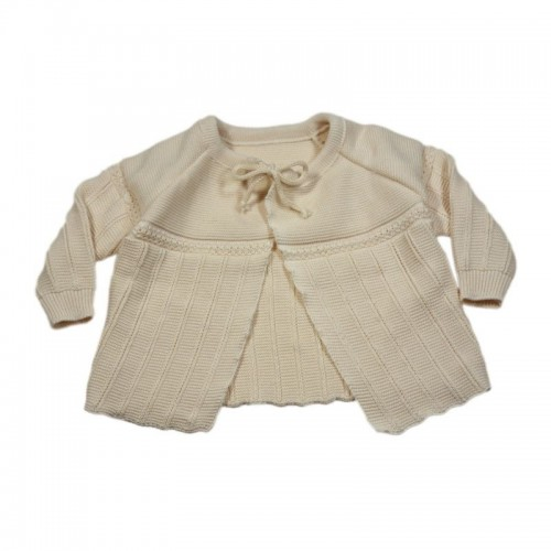 Baby Jäckchen – Strickjäckchen Bio-Baumwolle | Sonnenstrick
