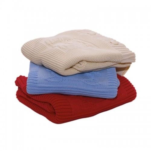 Strick Baby-Schlafsack aus Bio-Baumwolle | Sonnenstrick