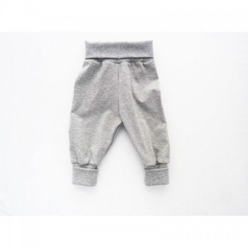 Babypumphose Baby Mitwachshose Grau | Ulalue