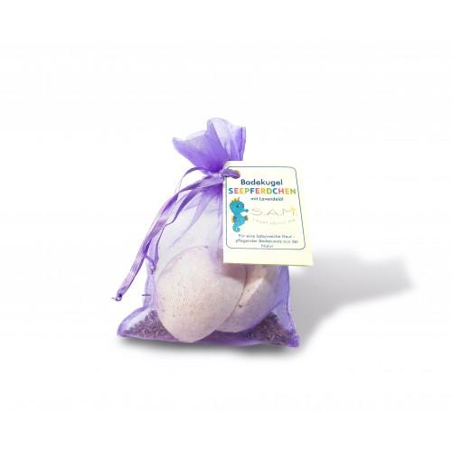 SAM Badekugel Seepferdchen Lavendel von MeraSan