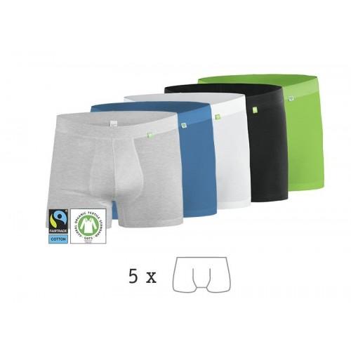 Beatbux Boxers 5 Pack, Organic Cotton Men's Brief | kleiderhelden