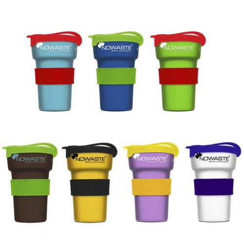 Reusable Cup with Lid and Heat Protection Tree Cup