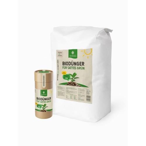 SNÄGG Complete Organic Fertiliser Pack of 1 kg + 8 kg