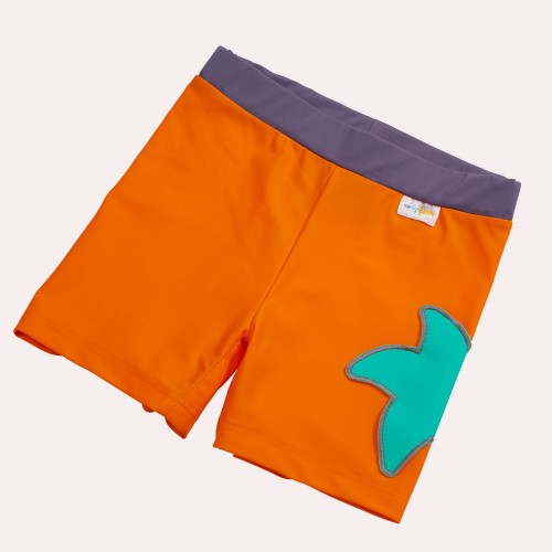 Girls Bikini Briefs Orangina - Starfish & UV Protection 50+