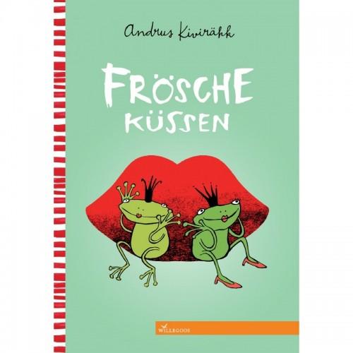 Kissing the Frogs (German: Frösche küssen) - Eco Picture Book | Willegoos