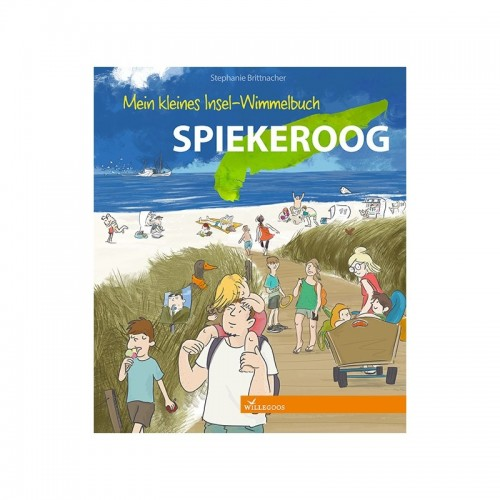 Discover Island Spiekeroog - children's picture book | Willegoos