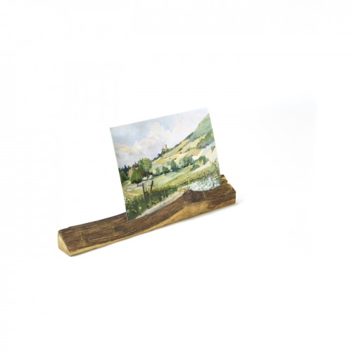 Upcycled photo stand 3 made of oiled oak wood | reditum