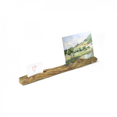 Upcycled photo stand 4 made of oiled oak wood | reditum