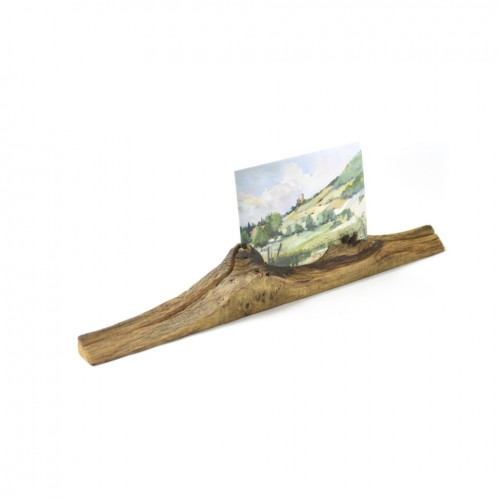 Upcycled photo stand 5 made of oiled oak wood | reditum