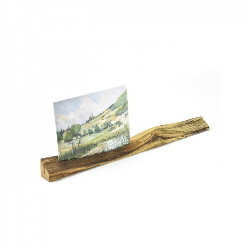 Upcycled photo stand 7 made of oiled oak wood | reditum