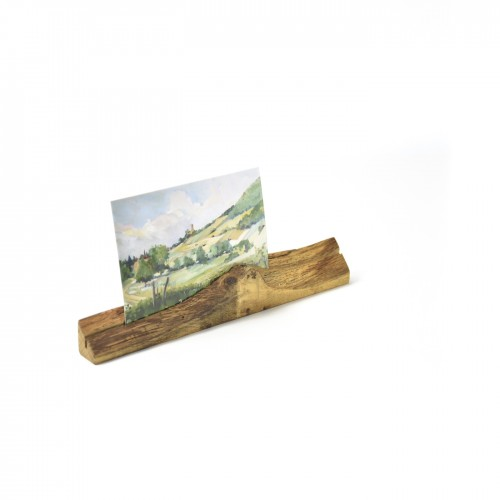 Upcycled photo stand 8 made of oiled oak wood | reditum