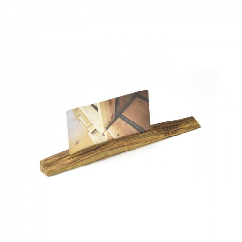 Upcycled photo stand 10 made of oiled oak wood | reditum