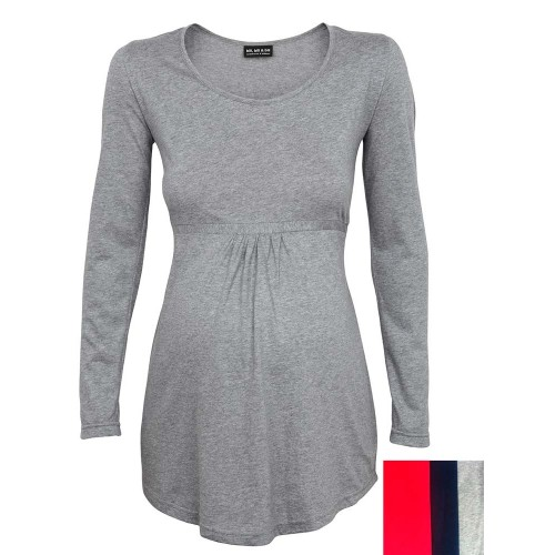 Maternity Tunic – Organic Longsleeve for pregnancy