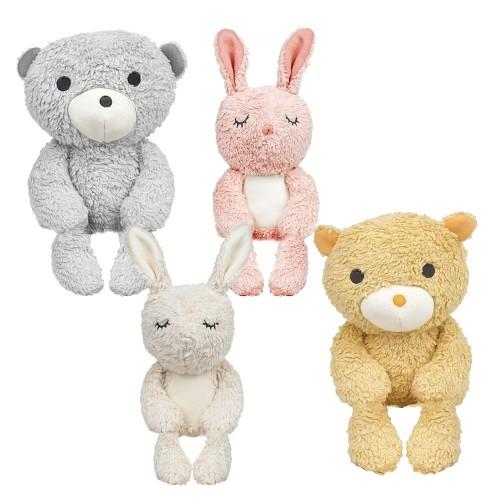 Bimle Organic Cuddly Toy, Rabbit & Bear | Franck & Fischer