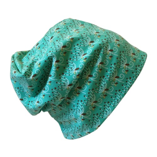 Light green Organic cotton Cap Polly | bingabonga