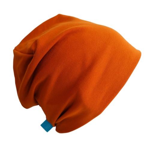 "Organic Cotton Cap ""Line""  in Cinnamon | bingabonga"