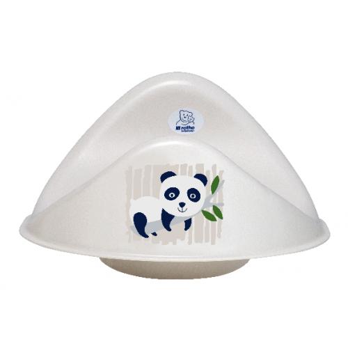 Bio-Line Toilet Seat Panda - bioplastic | Rotho Babydesign