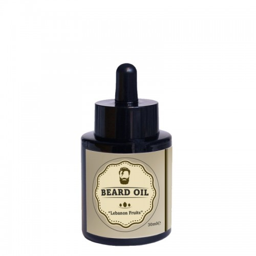 "Beard Oil BIO beard & moustache oil ""Lebanon Fruits"" 