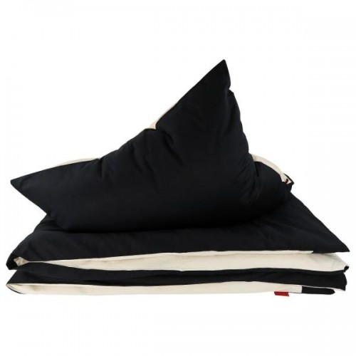 ia io Black & White bedclothes set - noble eco satin