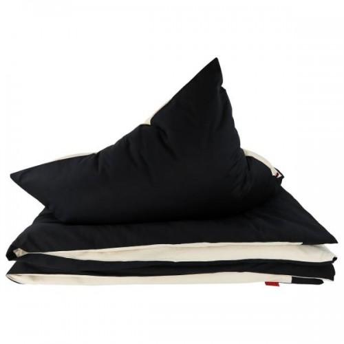 ia io Black & White bedclothes set - noble eco satin