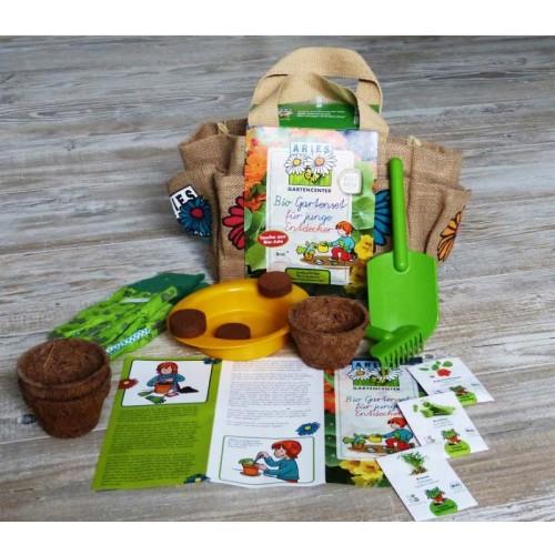 Bio Gartenset für junge Entdecker & Kinder