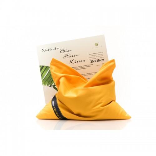 Organic Millet Husks Pillow   Weltecke