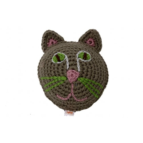 Eco Dog toy CAT crocheted Oeko Tex100 | Unique Dog