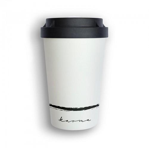 Organic Reusable Takeaway Cup Heybico Karma