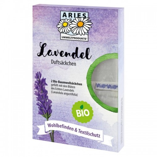 Aries Organic Lavender Fragrance Bag - mothproofing