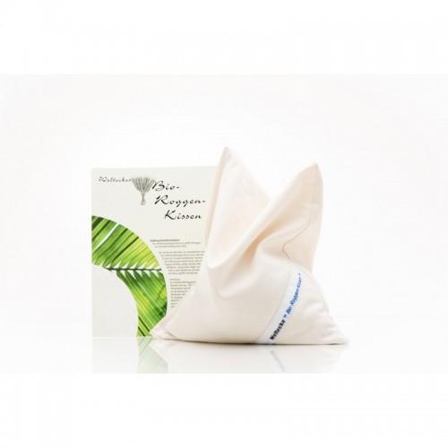 Organic Rye Grains Pillow 25x25 cm | Weltecke