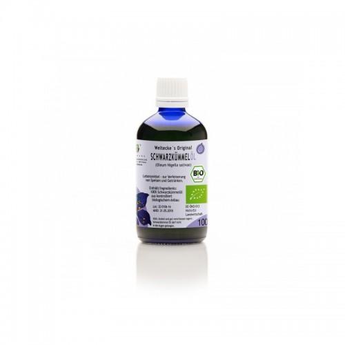 Organic Black Cumin Seed Oil | Weltecke