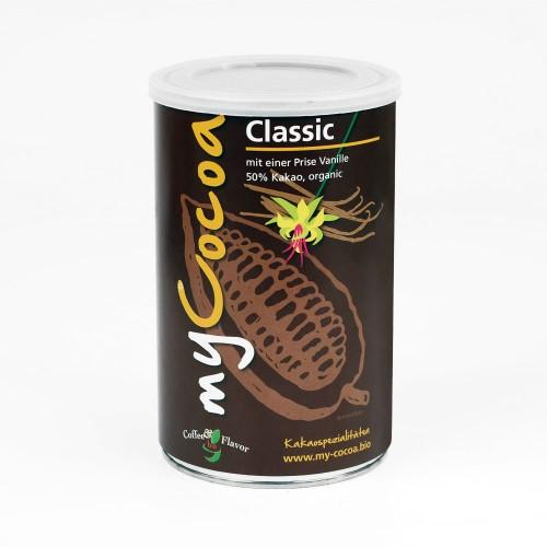 Bio Kakaopulver 50% Classic mit Rohrzucker & Vanille