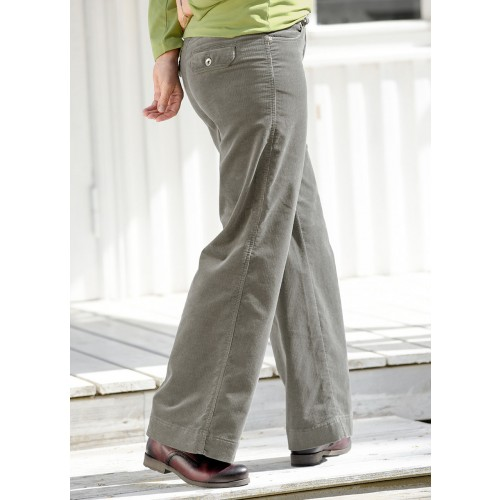 bloomers Eco Corduroy Trousers MARLENE Bootcut-Style
