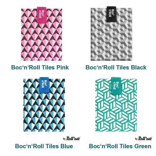 Roll'eat Boc'n'Roll Sandwich Wrap colourful Tiles